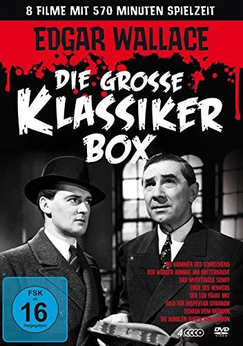 Edgar Wallace - Die große Klassikerbox [4 DVDs]