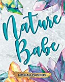 Nature Babe: Crystals Planner Keep Track Of Your New Old And Future Crystals Here Design