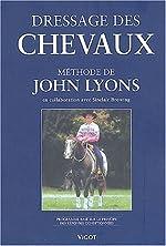 Dressage des chevaux selon le méthode de John Lyons. Programme basé sur le principe des réponses conditionnées de John Lyons