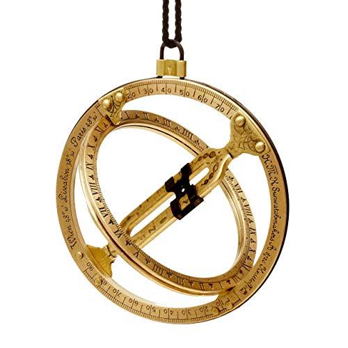 HYY-YY. Der H. M.Kala Brass & Stahl Taschen Sundial - Eine einzigartige Taschenuhr & Sonnenuhr Kompass in One (Official)