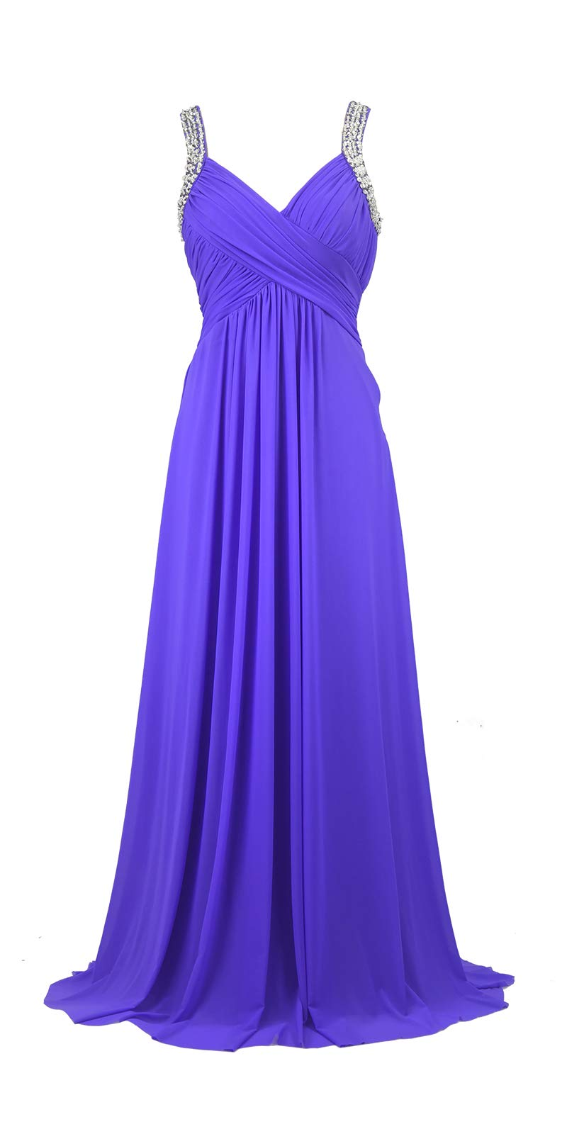 Available at Amazon: Conail Coco Women's Tulle Beading A-Line Bridesmaid Prom Dresses Long Cocktail Evening Gowns