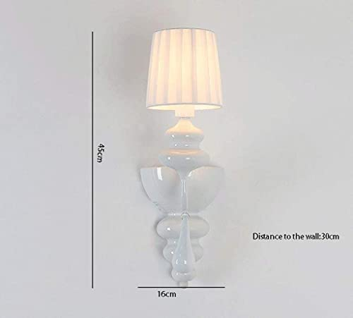 WISDOM Lampe Murale de Fer Couloir Lampe créative Lampe de Jardin tête de lit Lampe de Chevet Chambre
