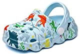 INMINPIN Lindo Zuecos Niñas Niños Respirable Sandalias Verano Zapatillas de Playa y Piscina Zapatos de Jardín y Agua,Cielo Azul,22-23,Niño