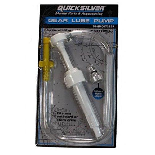 Bootskiste Quicksilver Getriebeöl Handpumpe