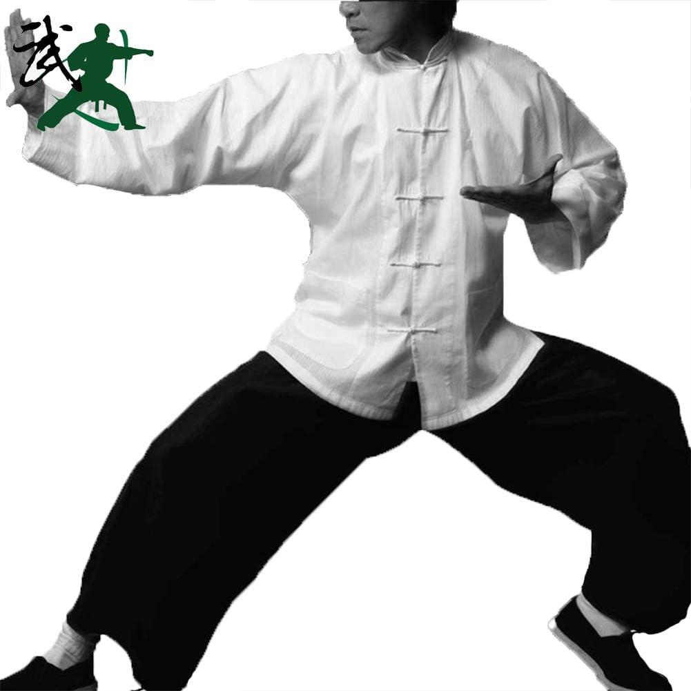 Zyqdrz Ropa Tradicional De Kung Fu Bruce Lee De 2 Piezas Ropa De Tai Chi Kung Fu De Algodón Puro Traje Tang Ropa De Entrenamiento Blanco M Amazon Es Hogar