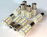 TradeWind 27連 24V用 LED シングル球 マーカーランプ ピン角180°サイドマーカー(白 10個)
