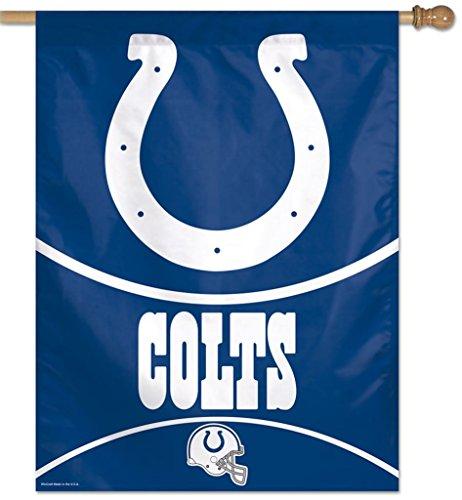 Bandeira Vertical 70x100 Logo Team Indianapolis Colts