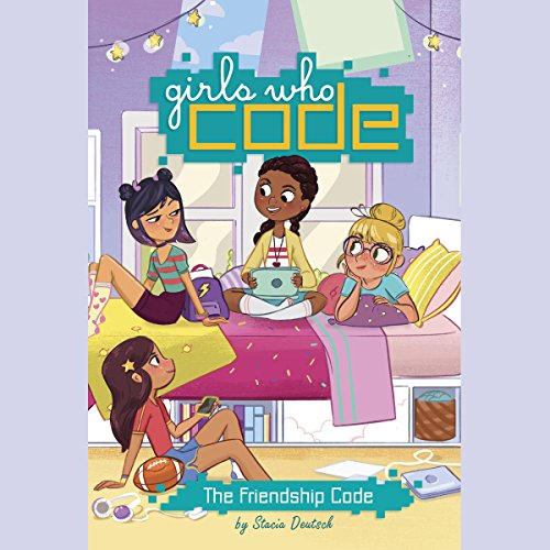 The Friendship Code audiobook cover art