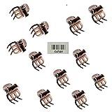 Cuhair kleine Haarspangen, Vintage-Stil, Metalllegierung, Haarclip, Haarschmuck für Mädchen und Frauen, 10Stück