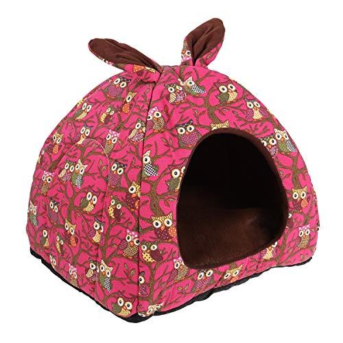 POPETPOP Casa de Caliente para Mascotas, Plegable Perrera, 2