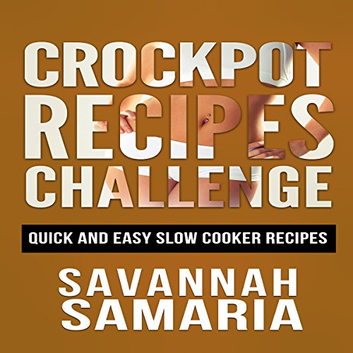 Crockpot Recipes: Quick and Simple Slow Cooker Recipes for Healthy Living audiobook cover art