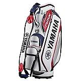 YAMAHA(ヤマハ) ゴルフ キャディバッグ 9.5型 Y21CBP 4615212602 9.5 ホワイト×レッド