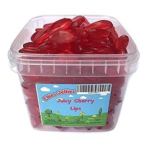 ellies jellies® juicy cherry lips 840g square tub Ellies Jellies® Juicy Cherry Lips 840g Square Tub 51QVCnW540L