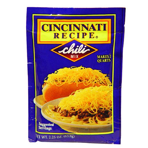Cincinnati Chili Mix, 2.25-Ounce Packages (Pack of 24)