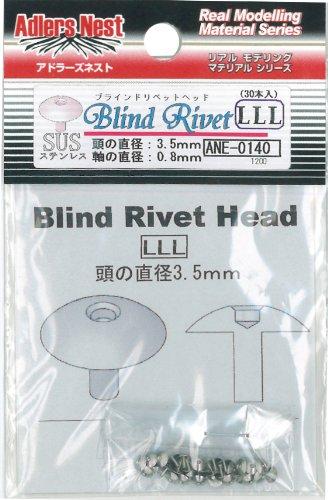 Blind rivet head. LLL (japan import)