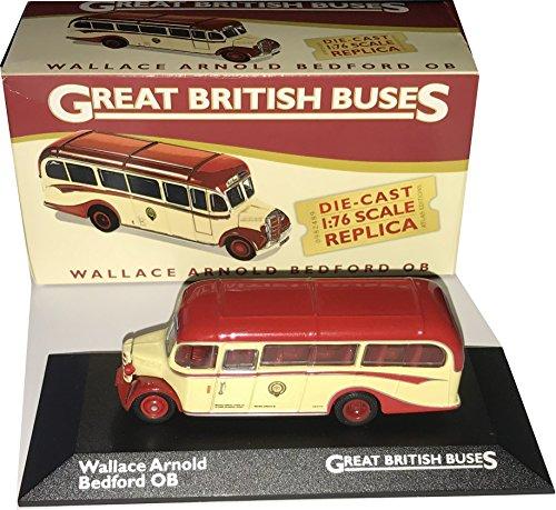 Wallace Arnold Bedford OB autobús de un solo piso, modelo a escala 1:76 de Atlas Editions