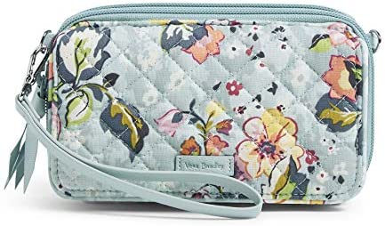 Vera Bradley Signature Cotton All in One Crossbody Purse with RFID Protection Floating Garden product image