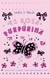 DIBUJA Y RASCA. Es rosa y purpurina (Rasca y Dibuja)
