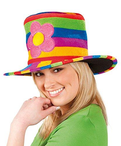 Rainbow Flower chapeau de fête chapeau