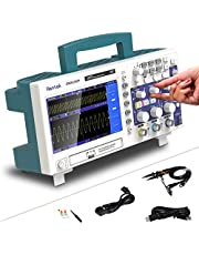 Osciloscopio de almacenamiento digital 200 / 100MHz 2 canales 1GSa / s Longitud de registro 40K USB Osciloscope Kit