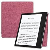 電子書籍の専用保護ケース、 場合のKindleのeリーダーオアシス(第9世代、2017のみ) - 強い吸着軽量カバー付きオートスリープ/スリープ解除 (Color : Fabric Water red)