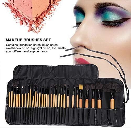 32pcs pinceaux de maquillage avec sac de rangement