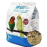 BPS Pienso NINFA Alimento Completo Comida con Formula Alta Energía Material Natural Receta Equilibrada con Base Científica 900g NINFA BPS-4027