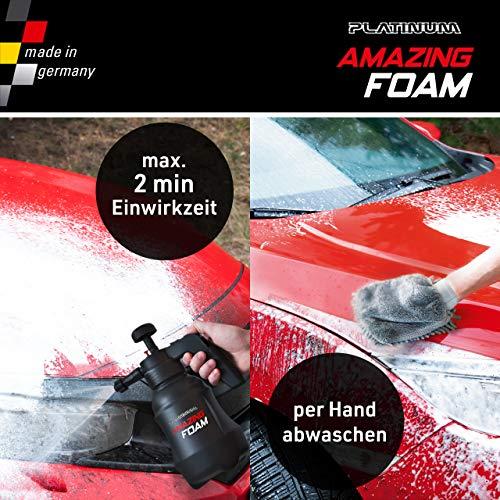 Mediashop Platinum Amazing Foam Set – Autoreiniger und Autopflege – entfernt hartnäckigen Schmutz und sorgt für Glanz – auch als Cockpit Reiniger – für alle Oberflächen - 2