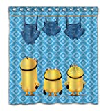 Aoskin Custom Kevin Shower Curtain with Color Bathroom Decoration Size of 66x72 Inches