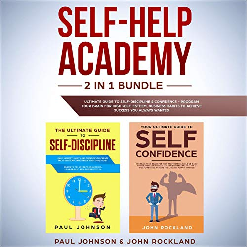 Self-Help Academy: 2 in 1 Bundle cover art