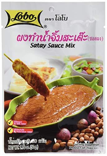 Lobo Würzpaste Erdnuss-Sauce Saté, 12er Pack (12 x 50 g)