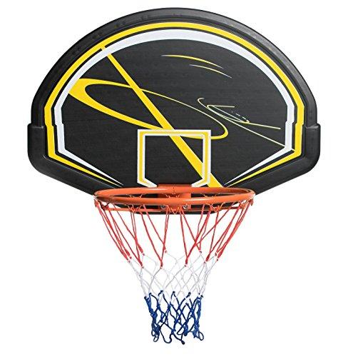 Aro de baloncesto AFX con panel completo y red para uso en exteriores y para adultos y niños
