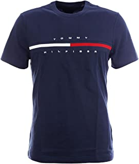 TOMMY HILFIGER Mens Classic Fit Big Logo T-Shirt