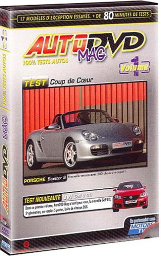 Auto DVD Mag - Volume 1 - 100% tests autos [Francia]