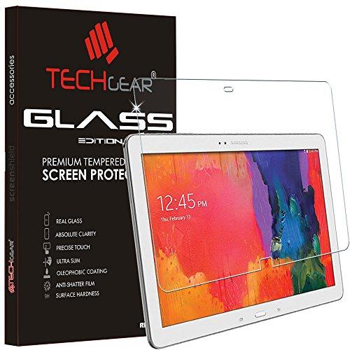 TECHGEAR Vidrio Compatible con Samsung Galaxy Tab Pro 12.2 (SM-T900/SM-T905) - Auténtica Protector de Pantalla Vidro Templado