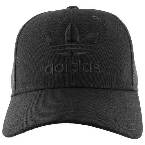 adidas Men's Originals Precurve Snapback Cap, Black, One Size