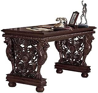 Design Toscano Effingham Gryphon Library Desk Dining Table, 55 Inch