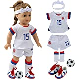 fundolls 18 Inch Doll Clothes and Accessories - Team...