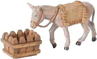 Fontanini Mary's Donkey Animal Italian Nativity Village Figurine 3 Piece Set