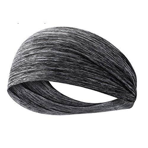 4 stuks elastische yoga haarband sporten polsbandje running sporten haar bandana outdoor fitness sport-polsbandje sport bandage (willekeurige kleur)