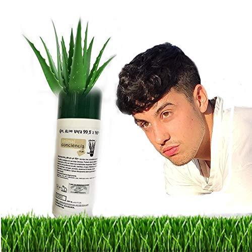 Gel para Granos de la cara aloe vera puro canario acne juvenil pieles grasas 250ml