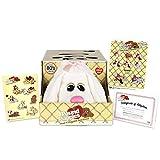 Basic Fun Pound Puppies Classic Stuffed Animal Plush Toy - Great Gift for Girls & Boys - 17' - White Poodle (Amazon Exclusive)