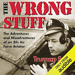 The Wrong Stuff audiobook cover art