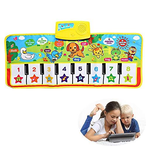 HYQ Musique de bébé Couverture Multifonction Pliable Jouets Tapis âge Applicable Les Enfants (0-2 Ans), Les Enfants (3-6 Ans)