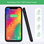 Aonimi Battery Case For Iphone 11 Newest 6800mah Portable Charging Case Rechargeable External Battery Pack Protective Extended Battery Backup Charger Case For Iphone 11 61 Inch