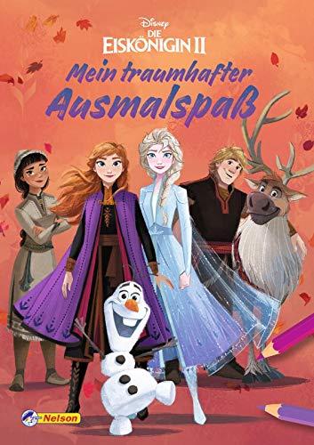 Disney Die Eiskönigin 2: Mein traumhafter Ausmalspaß: Malblock mit 128 Seiten (Disney Eiskönigin)