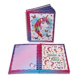 Wobbly Jelly Lucy Locket - Livre d'activités pour Enfants «Licorne Magique» - Cahier d'activités et Journal Intime pour Enfants - Autocollants, coloriages, Pages lignées et Bien Plus