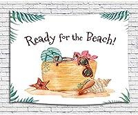 FJTP 壁タペストリー 夏のビーチのテーマ トロピカルオーシャン 夏の休日の放浪者 おしゃれなタペストリー 壁掛け 大学の寮の家の装飾