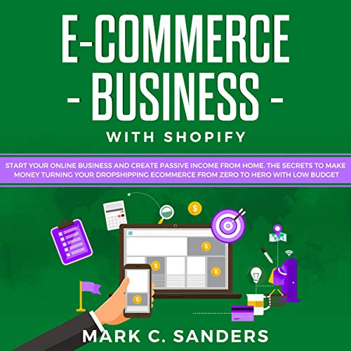 E-commerce Business with Shopify cover art