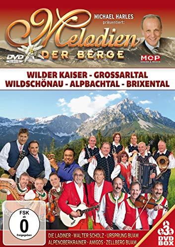 Melodien der Berge - Wilder Kaiser - Großarltal - Wildschönau, Alpbachtal, Brixental [3 DVDs]